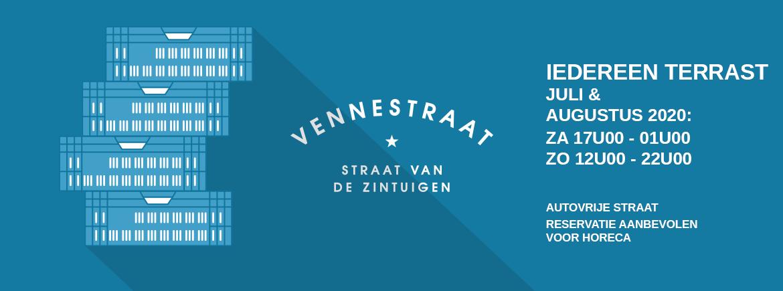Iedereen Terrast 2020 Vennestraat Genk Juli Augustus